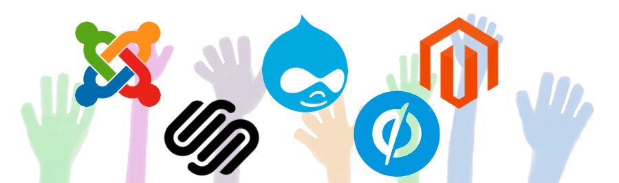 How to protect sites made with Joomla, Drupal, Magento and others CMS.