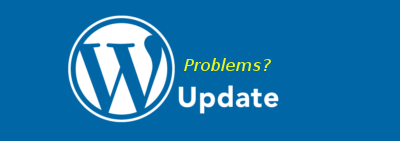 After updating WordPress my webpage is messed up, how can i restore the old version?